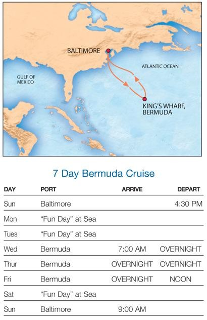 Bermuda Cruise Photo - Cruise out of baltimore